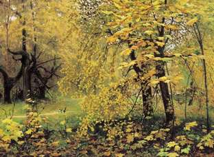 Сочинение по картине Остроухова «Золотая осень», 2 класс